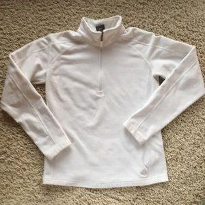 NIke fleece 1/4 zip pullover women's size small